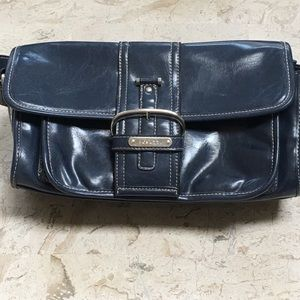 Rosetti Small Medium Shoulder Bag Navy Vinyl